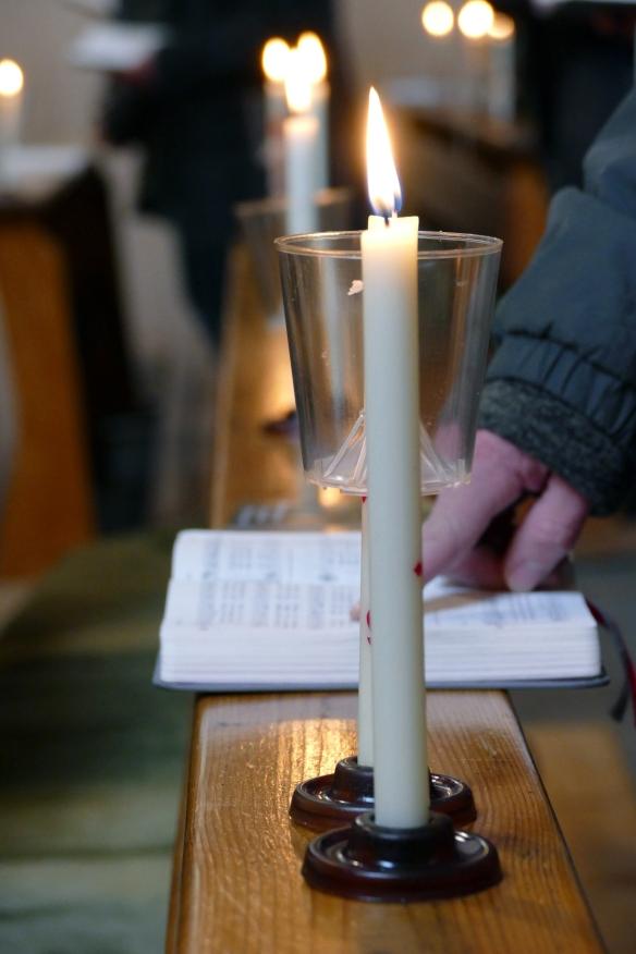 Kerze Frieden