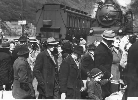 Ankunft in Brück April 1950