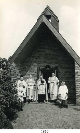 Einweihung der Beilsteiner Kapelle 1965
