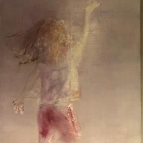 Gemälde: Stefan Neißner, Öl auf LW, 160 x 90 cm
