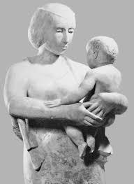 Bild - Maria mit Kind von der Künstlerin Nina Koch