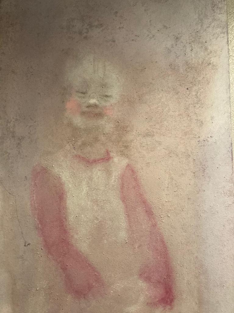 Gemälde - Mädchen mit Down-Syndrom SN