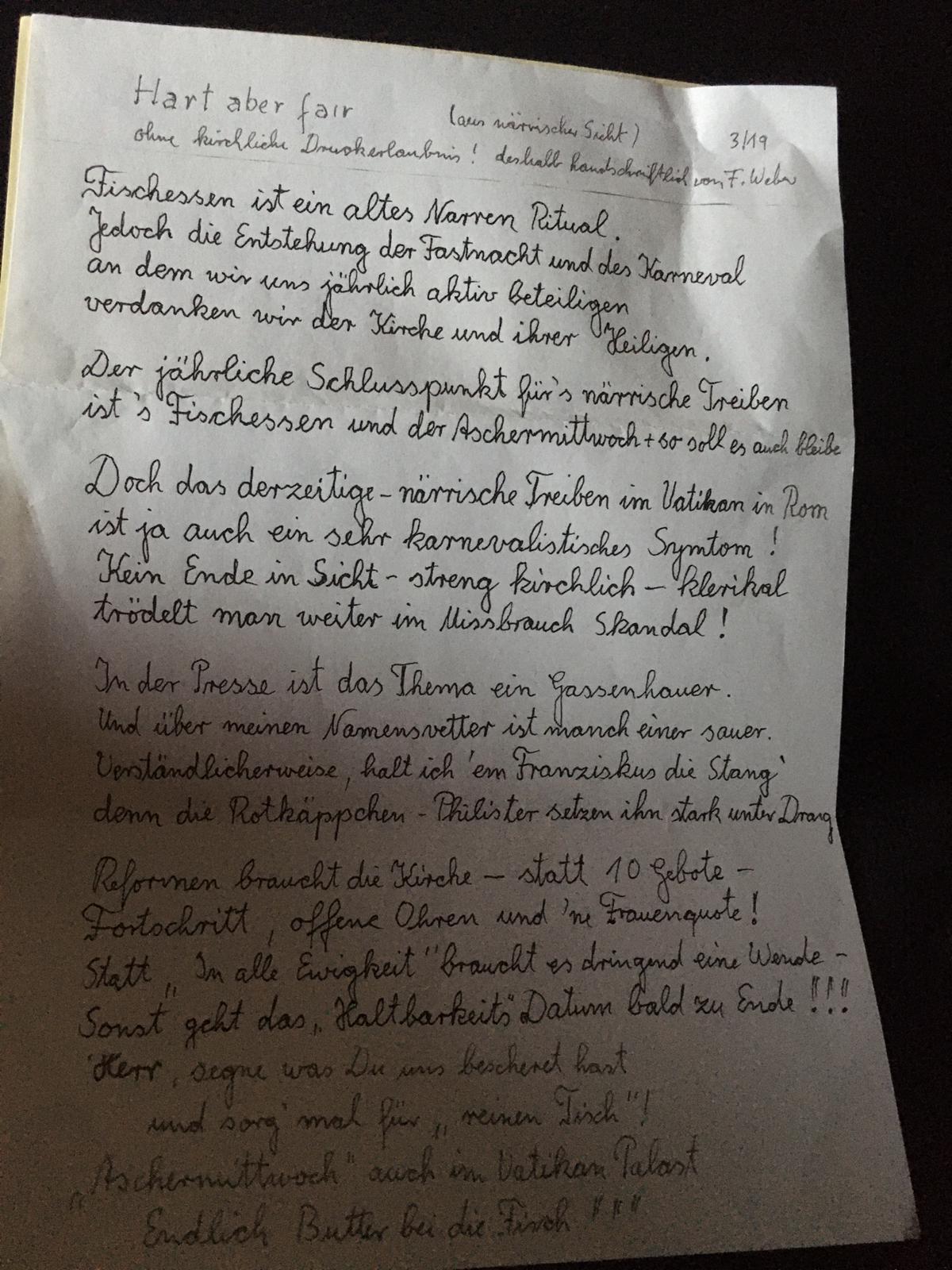 Text - Hart aber fair von Franz Weber (1)